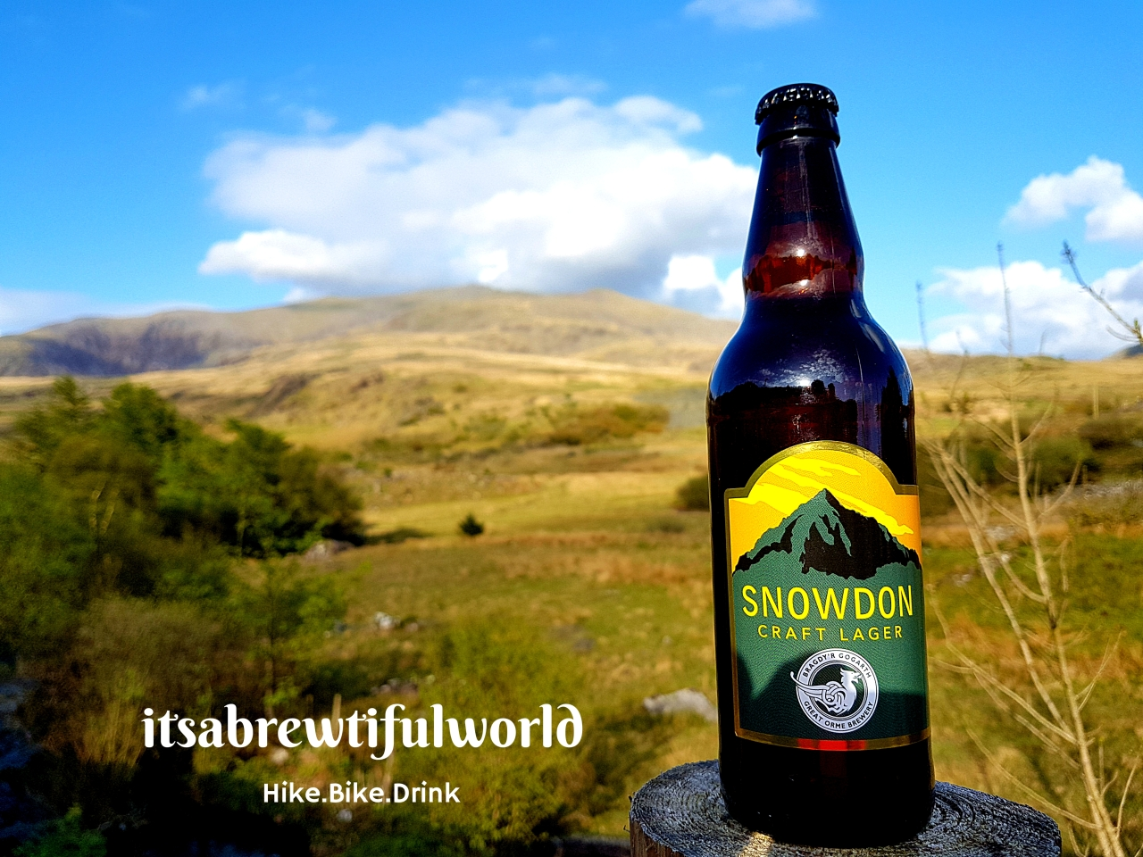 Hike the Brewtifulworld: Mount Snowdon