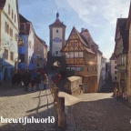 German Christmas Market Hopping Pt 3:  Rothenburg-ob-der-Tauber