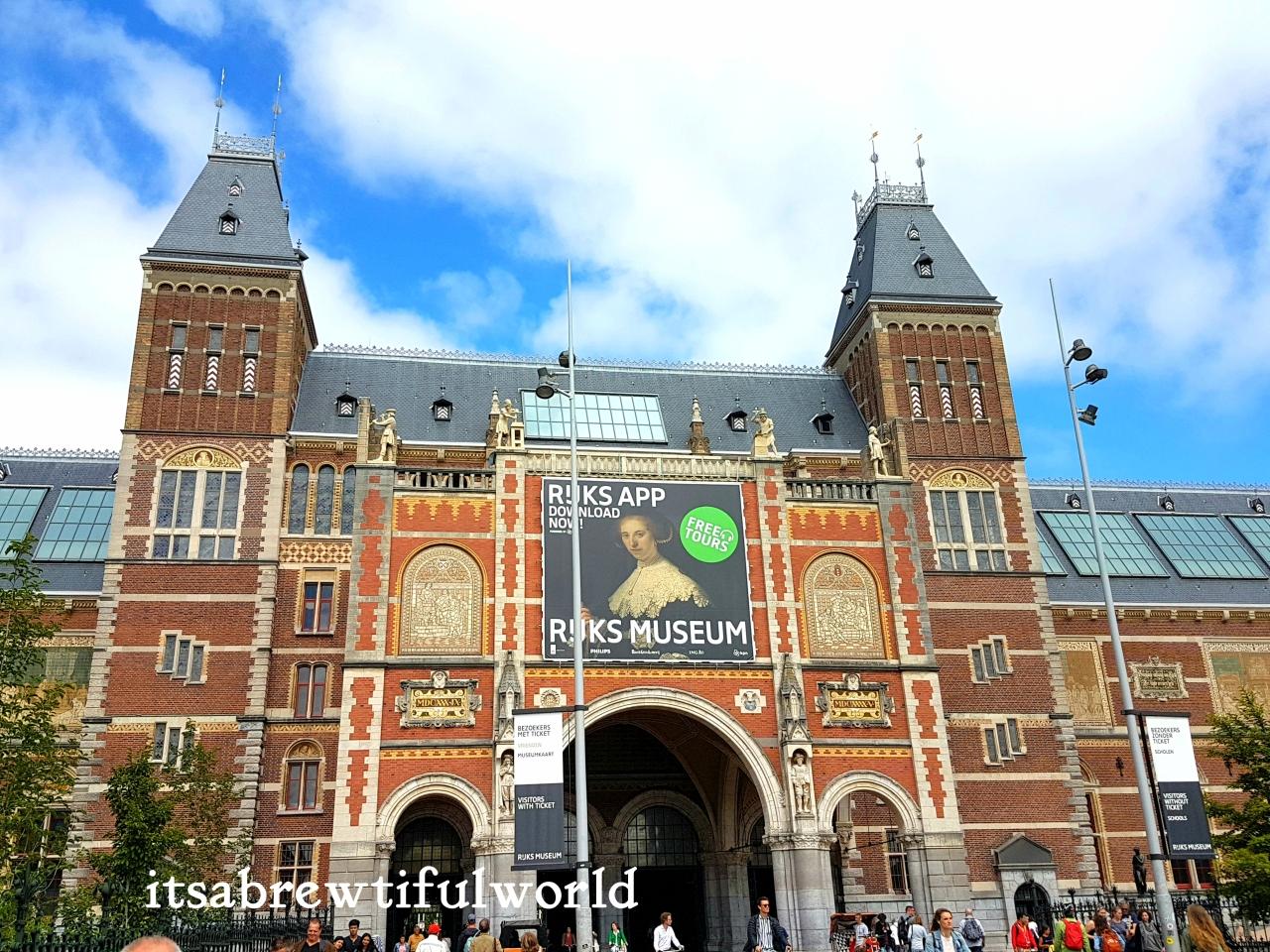 Drunken Masterpieces:  Rijksmuseum