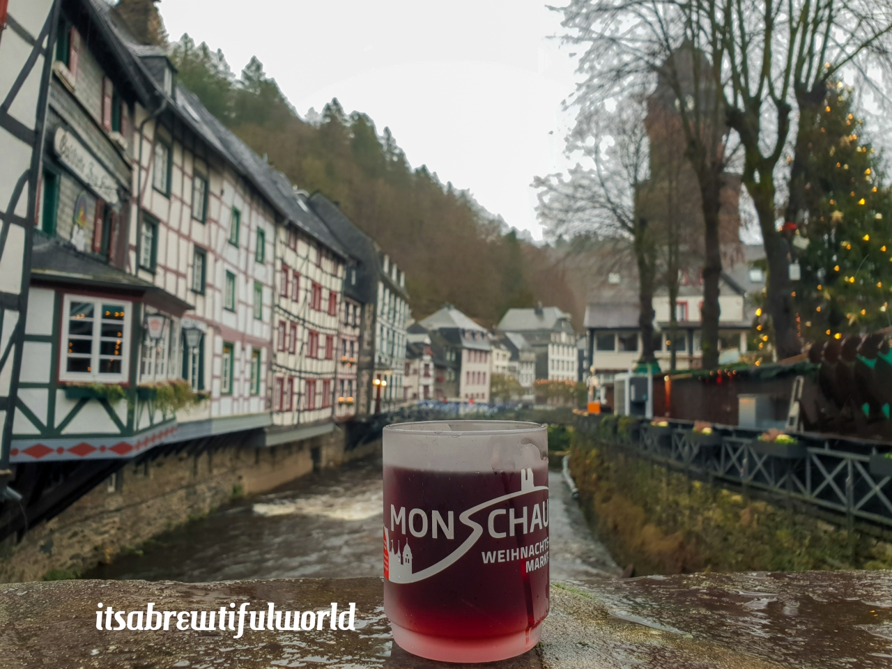 Christmas & War in the Eifel:  Monschau & BadMünstereifel